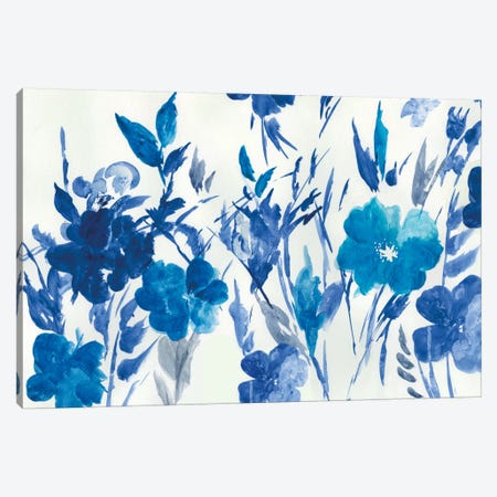 Blue Meadow Canvas Print #ASJ30} by Asia Jensen Canvas Print