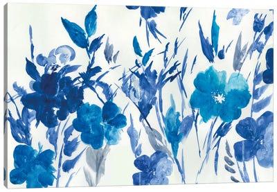 Blue Meadow Canvas Art Print