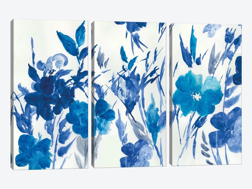 Blue Meadow by Asia Jensen 3-piece Art Print