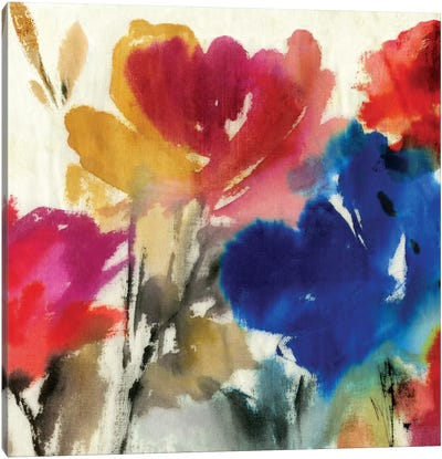 Watercolour Florals I Canvas Art Print