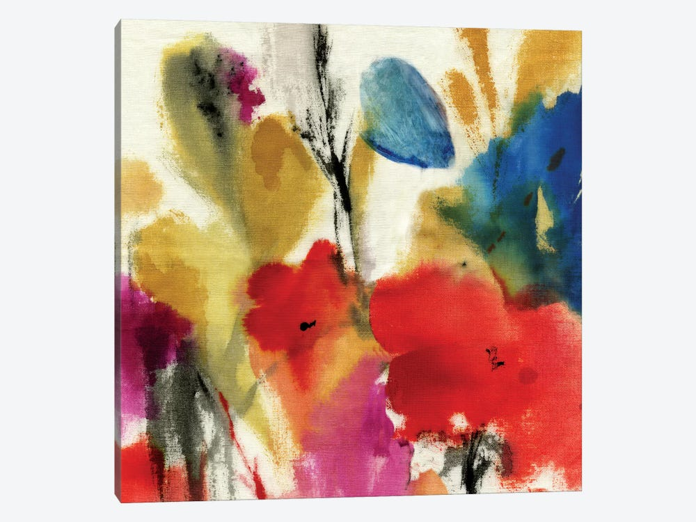 Watercolour Florals II by Asia Jensen 1-piece Canvas Print