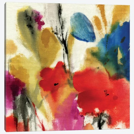 Watercolour Florals II Canvas Print #ASJ320} by Asia Jensen Art Print