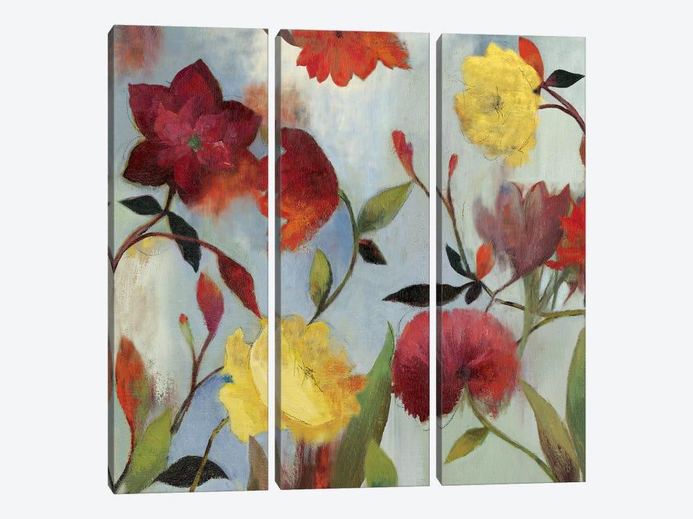 Wildflowers II by Asia Jensen 3-piece Canvas Wall Art