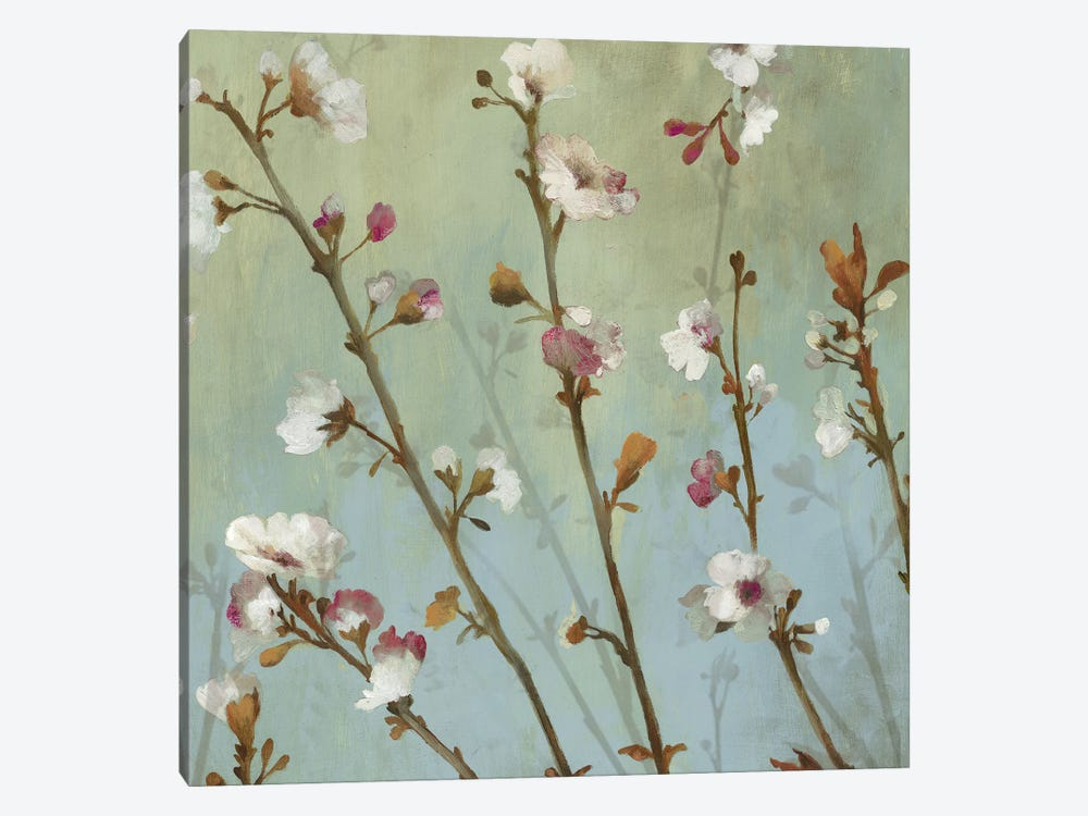 Wind Blossoms I by Asia Jensen 1-piece Canvas Art Print