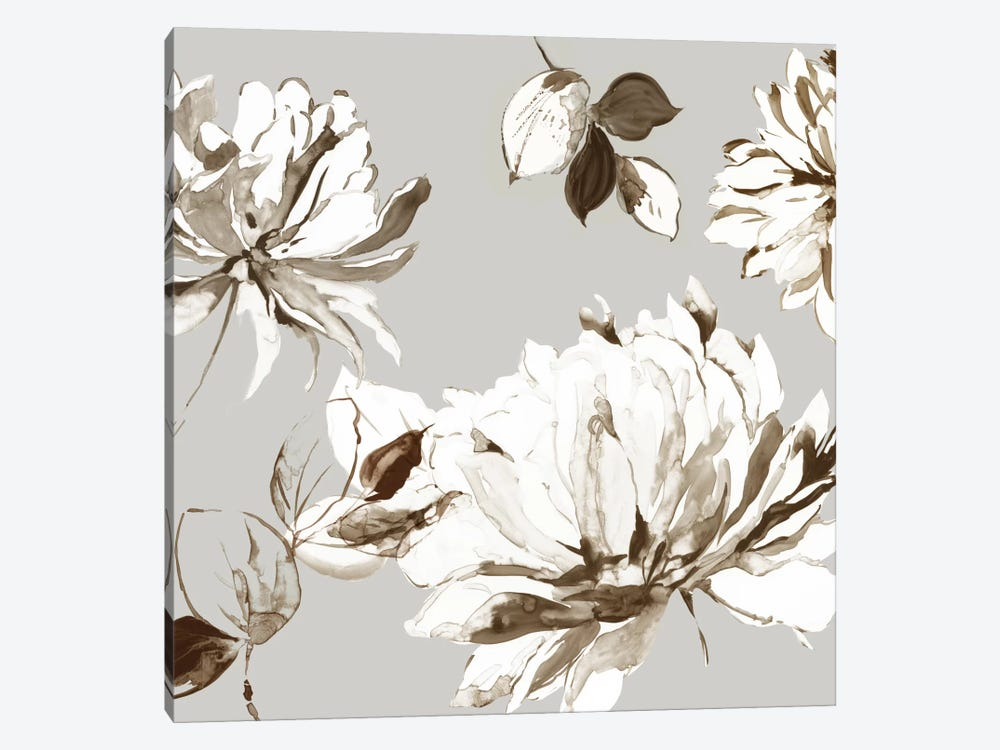 Botanical Gray II by Asia Jensen 1-piece Art Print