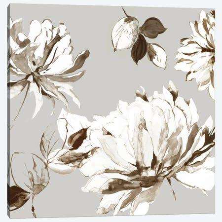 Botanical Gray II Canvas Print #ASJ337} by Asia Jensen Canvas Art Print