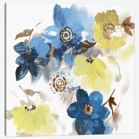 Glitchy Floral I Canvas Print #ASJ338} by Asia Jensen Canvas Artwork
