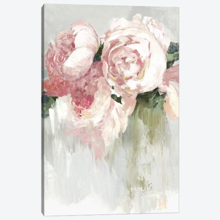 Peonies Canvas Print #ASJ341} by Asia Jensen Canvas Art Print