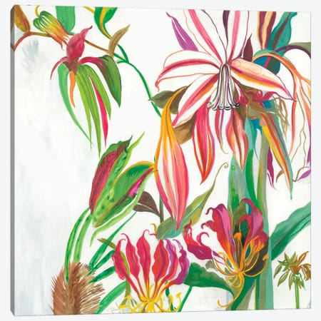 Tropical III Canvas Print #ASJ345} by Asia Jensen Canvas Artwork
