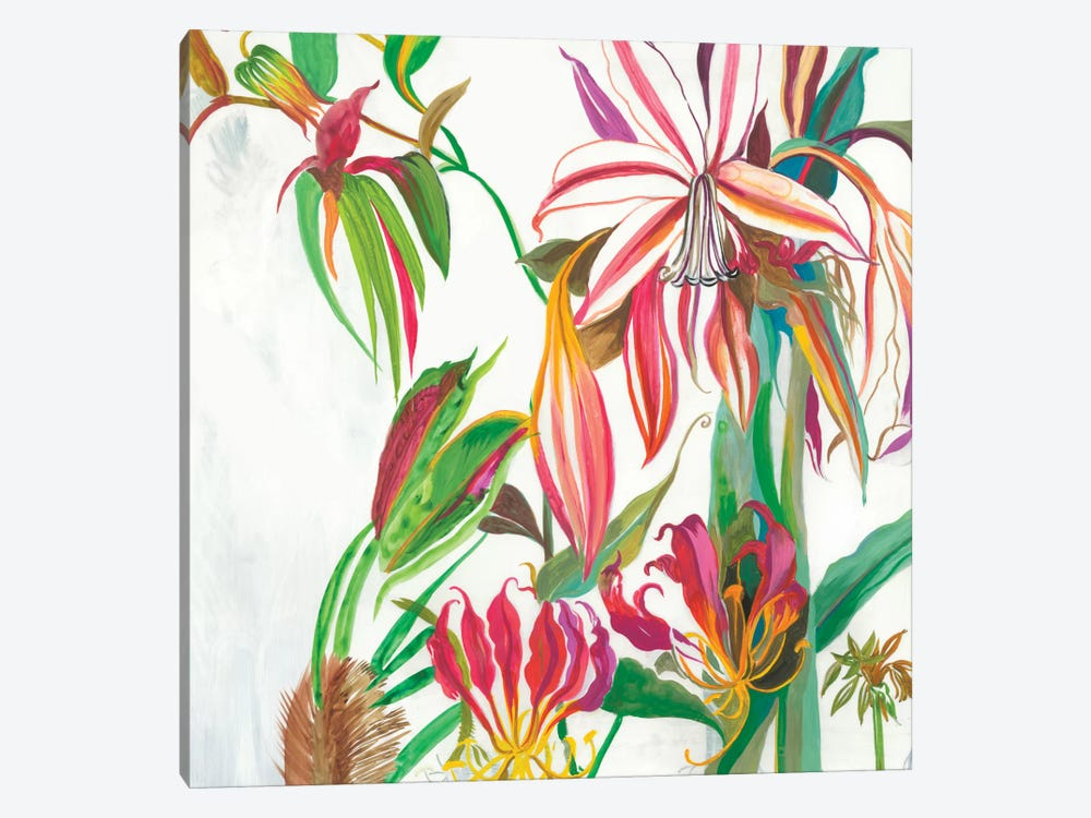 Tropical III by Asia Jensen 1-piece Canvas Artwork