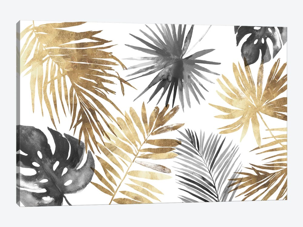 Tropical Palms I by Asia Jensen 1-piece Canvas Art Print