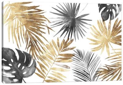 Tropical Palms I Canvas Art Print