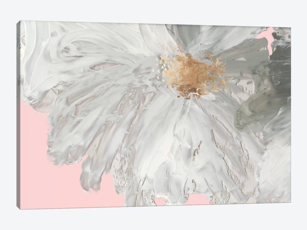White Peony by Asia Jensen 1-piece Canvas Art Print