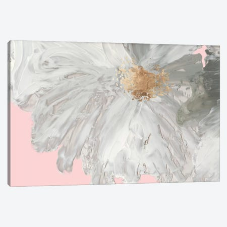 White Peony Canvas Print #ASJ348} by Asia Jensen Art Print