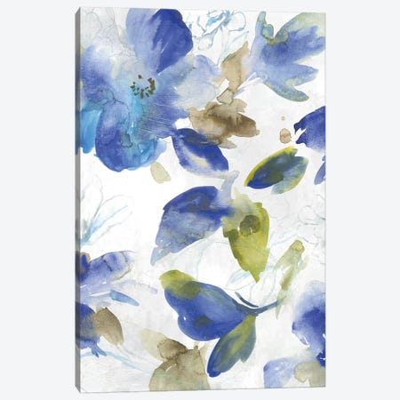 Beryl Botanicals I Canvas Print #ASJ350} by Asia Jensen Canvas Wall Art