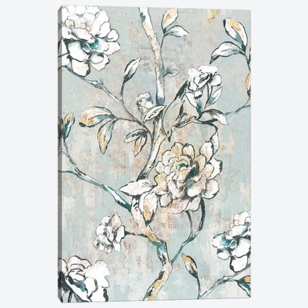 Bold White Canvas Print #ASJ353} by Asia Jensen Canvas Art