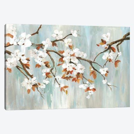 Golden Blooms I Canvas Print #ASJ354} by Asia Jensen Art Print