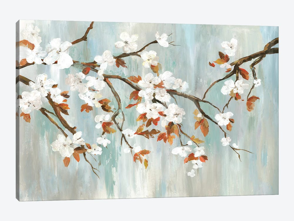 Golden Blooms I by Asia Jensen 1-piece Canvas Art