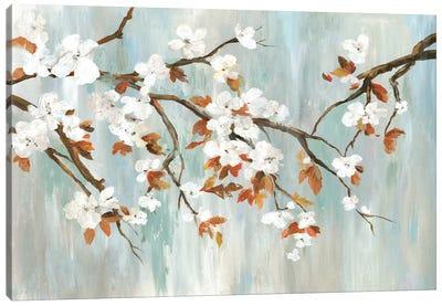 Golden Blooms I Canvas Art Print