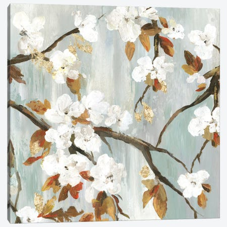 Golden Blooms II Canvas Print #ASJ355} by Asia Jensen Canvas Print