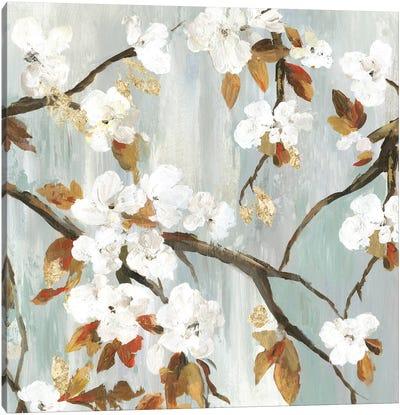 Golden Blooms II Canvas Art Print