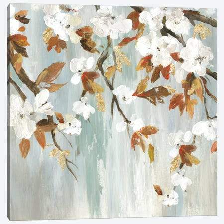 Golden Blooms III Canvas Print #ASJ356} by Asia Jensen Canvas Print