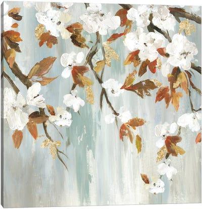 Golden Blooms III Canvas Art Print