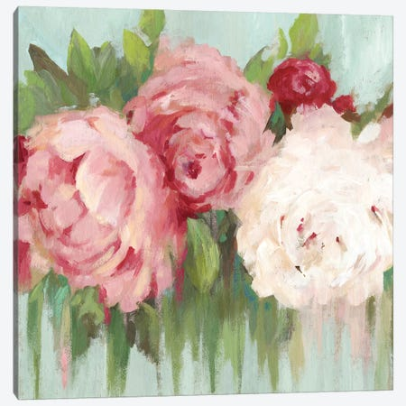 Lovely Peony Canvas Print #ASJ357} by Asia Jensen Canvas Print