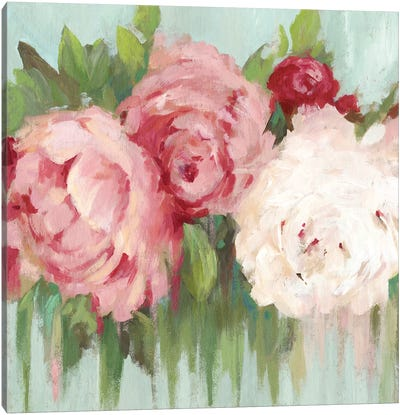 Lovely Peony Canvas Art Print