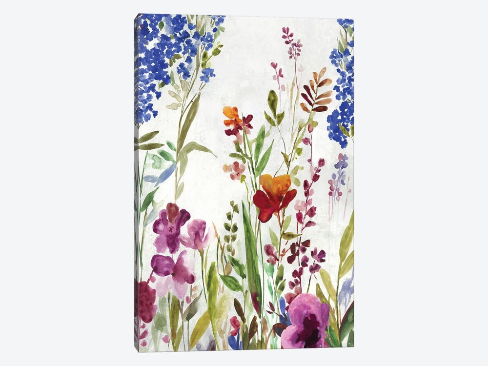 Spring Field by Asia Jensen 1-piece Canvas Art