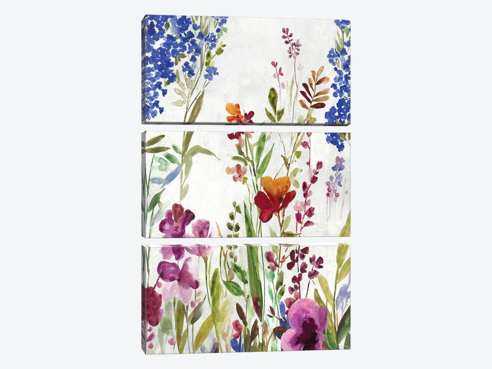 Spring Field by Asia Jensen 3-piece Canvas Artwork