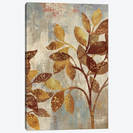 Bronze Leaves I Canvas Print #ASJ36} by Asia Jensen Canvas Art