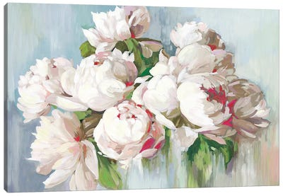 June Flowers  Canvas Art Print
