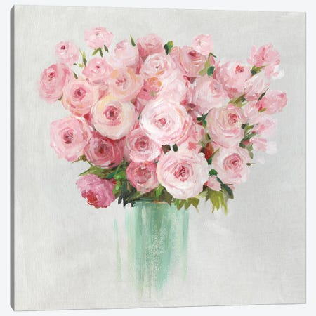 Roses Roses  Canvas Print #ASJ371} by Asia Jensen Canvas Art