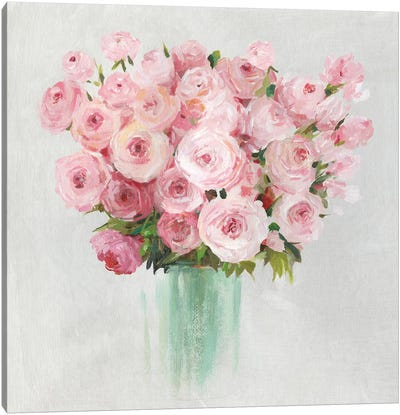 Roses Roses  Canvas Art Print