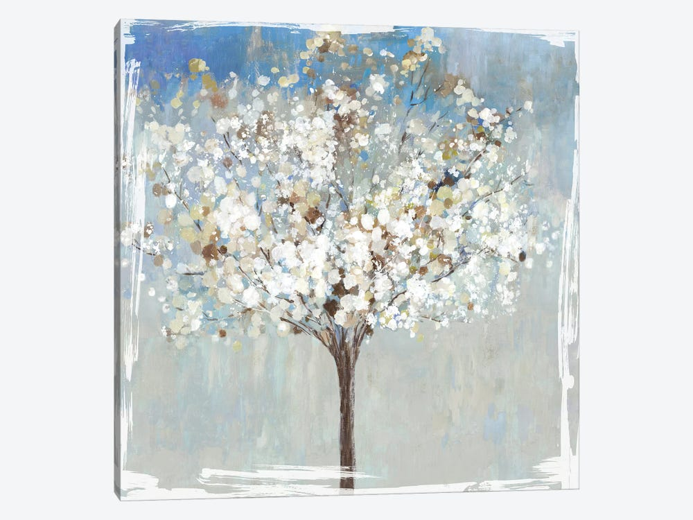 Winter Still Tree  by Asia Jensen 1-piece Canvas Print