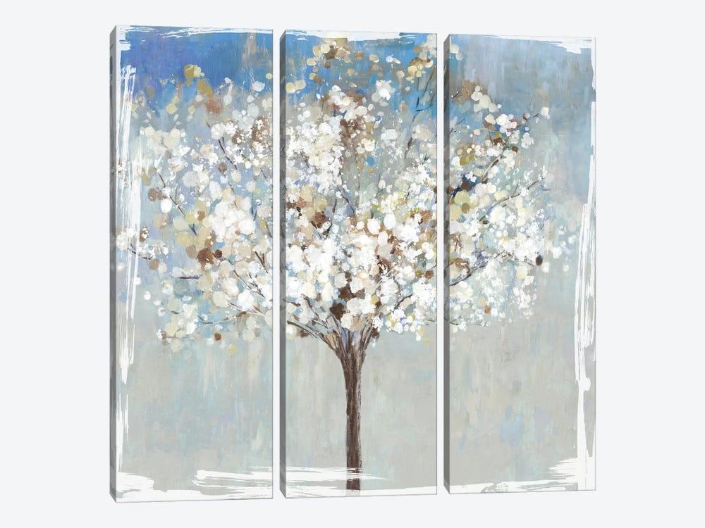 Winter Still Tree  by Asia Jensen 3-piece Canvas Art Print