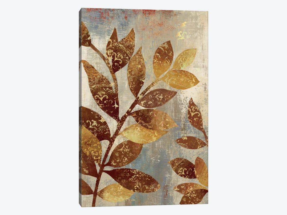 Bronze Leaves II by Asia Jensen 1-piece Canvas Art