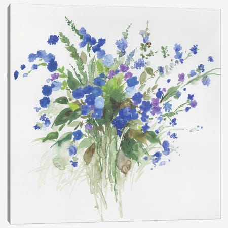 Handful Of Lavender Canvas Print #ASJ413} by Asia Jensen Canvas Print