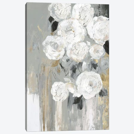 Cascading Gray  Canvas Print #ASJ429} by Asia Jensen Canvas Artwork