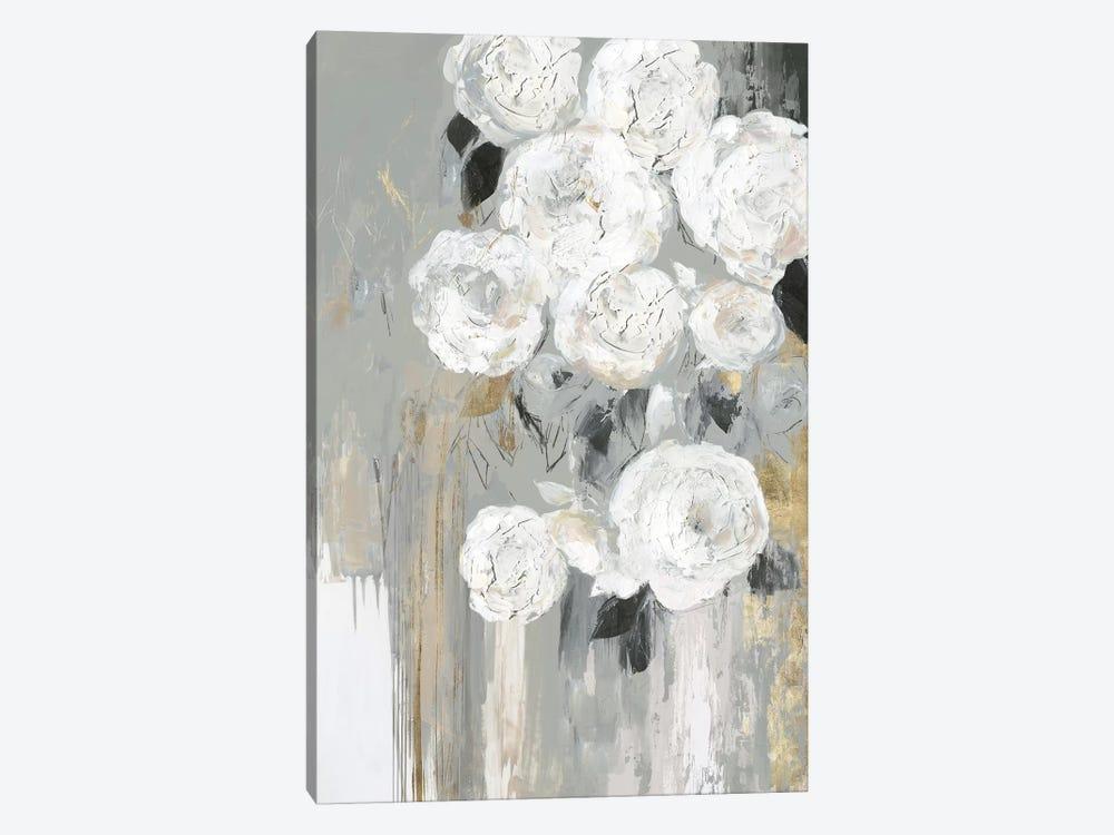 Cascading Gray  by Asia Jensen 1-piece Canvas Print