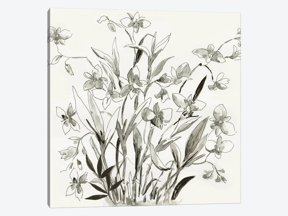 Cherishing Flora  by Asia Jensen 1-piece Canvas Art Print