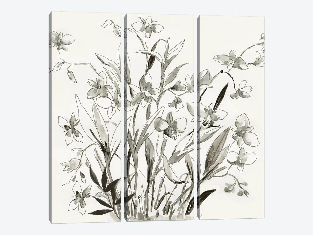 Cherishing Flora  by Asia Jensen 3-piece Canvas Print