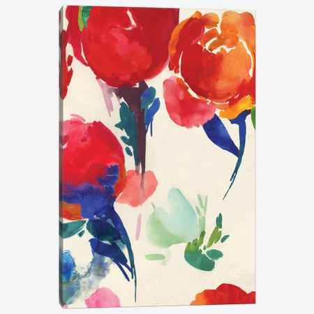 Fresh Spring Florals I  Canvas Print #ASJ432} by Asia Jensen Art Print