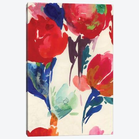 Fresh Spring Florals II  Canvas Print #ASJ433} by Asia Jensen Canvas Art Print