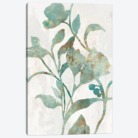 Rustic Flower II Canvas Print #ASJ474} by Asia Jensen Canvas Art