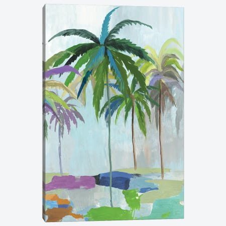 Tropical Summeer Canvas Print #ASJ478} by Asia Jensen Art Print
