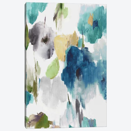Abstract Flower Pattern II Canvas Print #ASJ480} by Asia Jensen Canvas Artwork