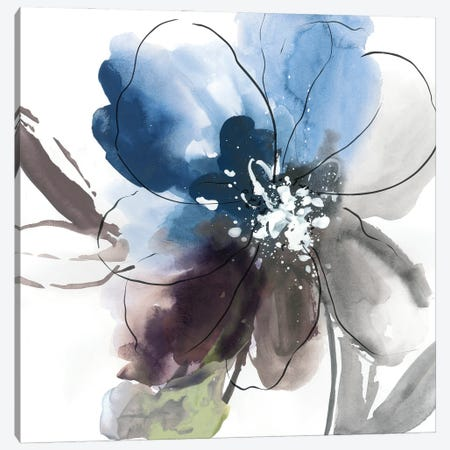 Flower Power II Canvas Print #ASJ492} by Asia Jensen Art Print