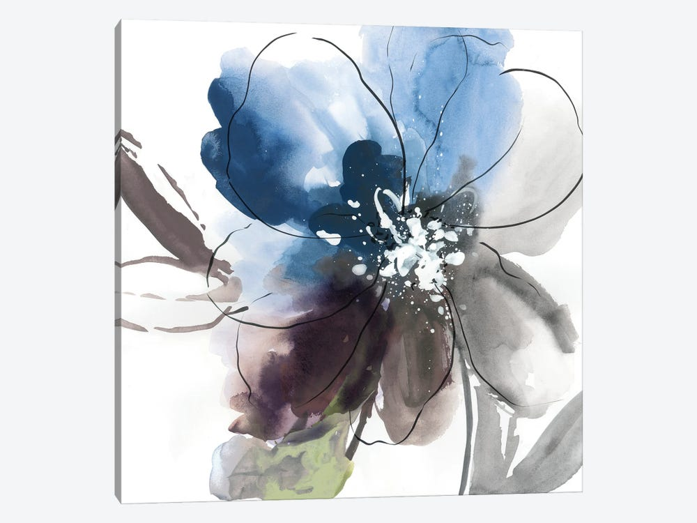 Flower Power II by Asia Jensen 1-piece Canvas Print